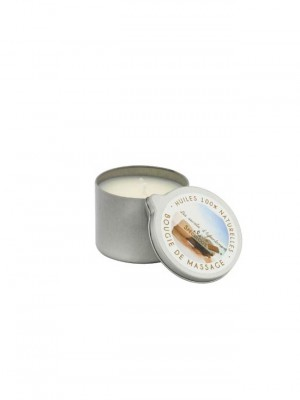 Bougie de massage fleur de lotus 160 g